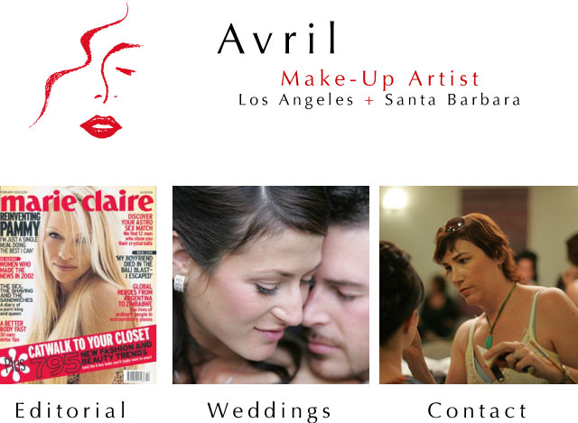 Avril - Professional makeup artist for editorial and brides in Los Angeles and Santa Barbara, CA